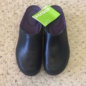 Crocs Cobbler 2.0 Leather Clog - W9.5 - NWT!!!